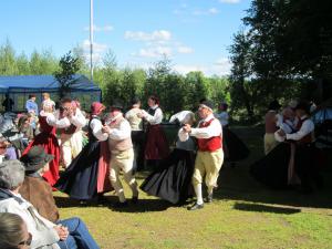 Folkdans vid spelmansstämman