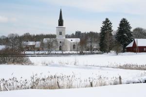 Vintervy Oderljunga kyrka