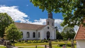 Sommarvy Oderljunga kyrka